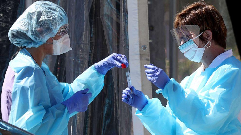 Coronavirus testing in Florida