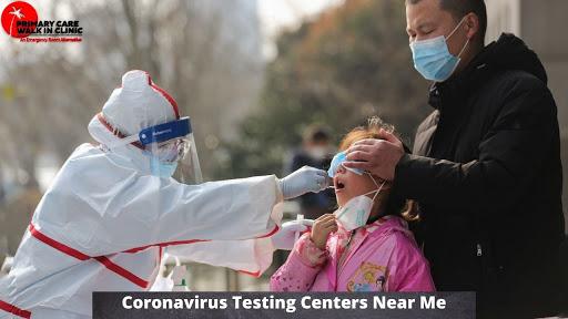 Coronavirus Testing Centers Near Me